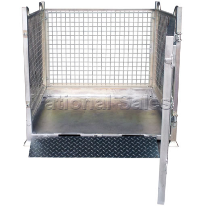 Picture of Crane Goods Cage with Ramp 1150mm