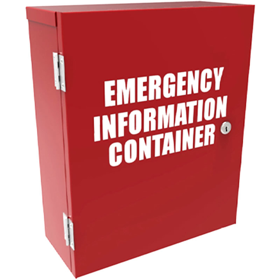 Picture of Emergency Information Storage Cabinet - Small